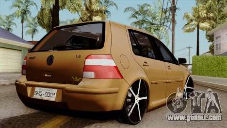 Volkswagen Golf 2004 Edit for GTA San Andreas left view