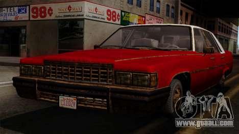 GTA 5 Albany Emperor Worn IVF for GTA San Andreas