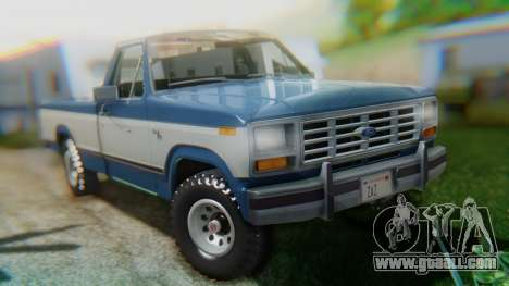 Ford F-150 1984 Final for GTA San Andreas left view