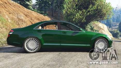 GTA 5 Mercedes-Benz S500 W221 v0.3.1 [Alpha] left side view