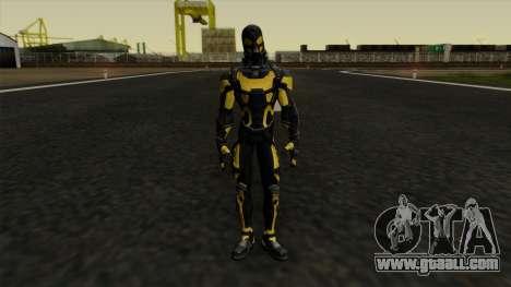 Ant-Man Yellow Jacket for GTA San Andreas second screenshot