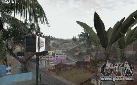 Trees from WarFace for GTA San Andreas fifth screenshot