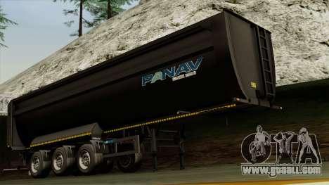 Panav Trailer for GTA San Andreas
