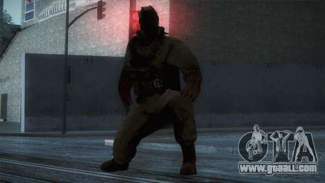 Order Soldier3 from Silent Hill for GTA San Andreas