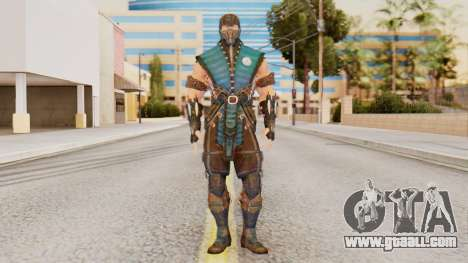 [MKX] Sub-Zero Masked for GTA San Andreas second screenshot