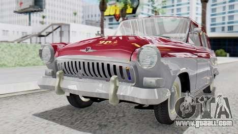 GAZ 21 Volga v2 for GTA San Andreas