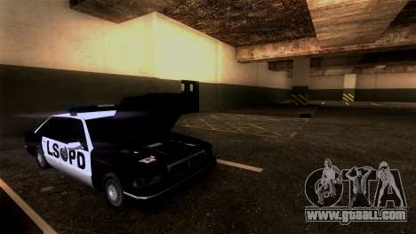 New LSPD Parking for GTA San Andreas