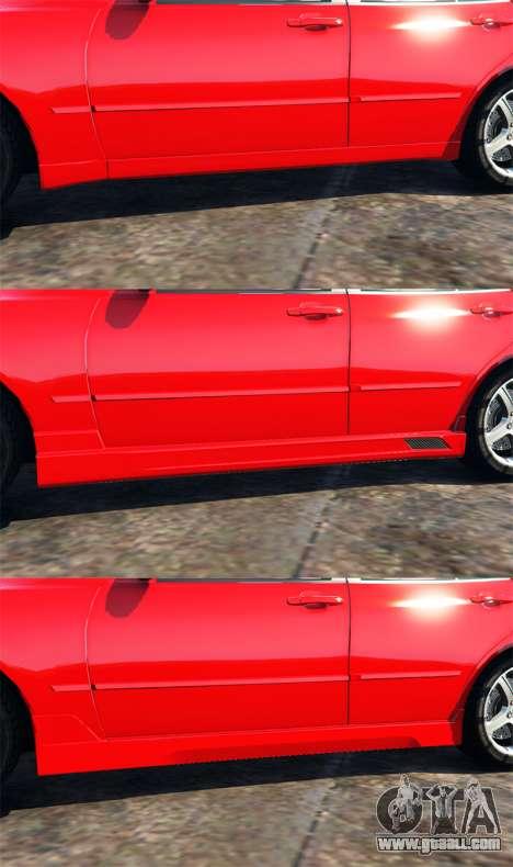 GTA 5 Lexus IS300 steering wheel