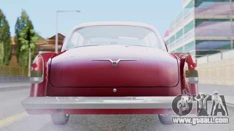 GAZ 21 Volga v3 for GTA San Andreas inner view