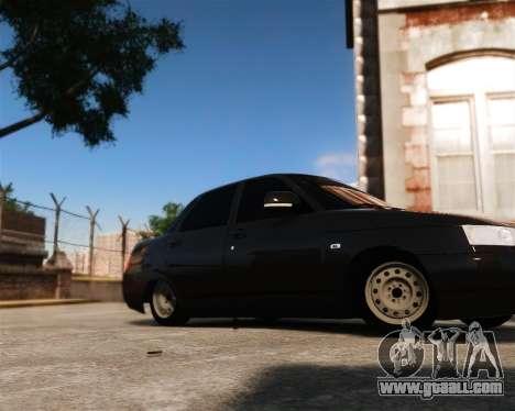 VAZ 2110 for GTA 4 back left view