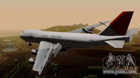 Boeing 747 JAL for GTA San Andreas left view