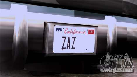 CA & NV License Plates for GTA San Andreas third screenshot