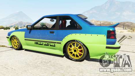 The HKS stickers on. for GTA 5
