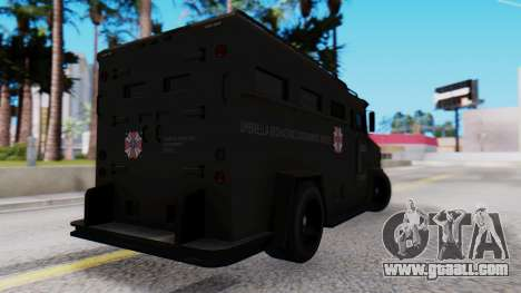 GTA 5 Enforcer Raccoon City Police Type 1 for GTA San Andreas left view