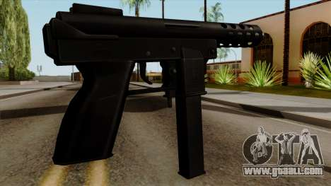 Original HD Tec9 for GTA San Andreas second screenshot