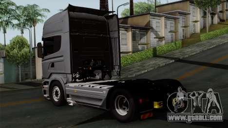 Scania R730 Streamline 4x2 for GTA San Andreas left view