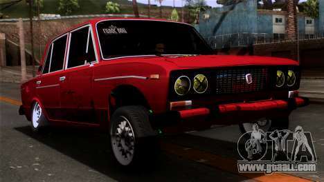 VAZ 2106 BC for GTA San Andreas left view