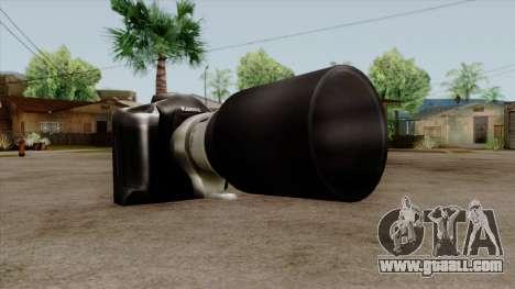 Original HD Camera for GTA San Andreas