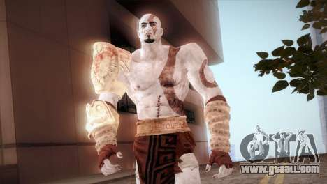 God Of War 3 Kratos for GTA San Andreas third screenshot