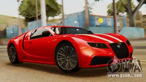 GTA 5 Adder Secondary Color Tire Dirt for GTA San Andreas