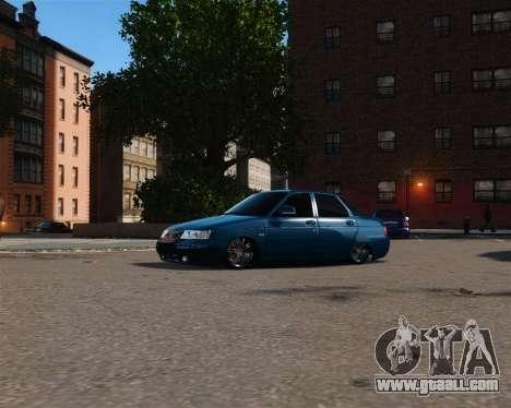 VAZ 2110 for GTA 4 left view