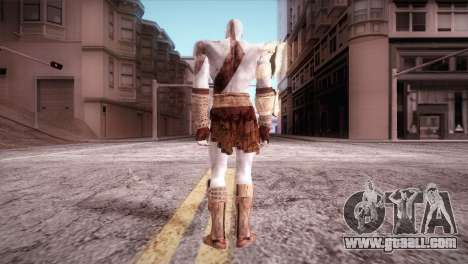 God Of War 3 Kratos for GTA San Andreas second screenshot