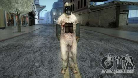 Order Soldier from Silent Hill for GTA San Andreas second screenshot