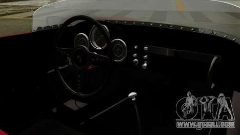 Porsche 550A Spyder 1956 for GTA San Andreas right view