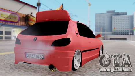 Peugeot 306 GTI for GTA San Andreas left view