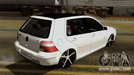 Volkswagen Golf 2004 Edit for GTA San Andreas side view