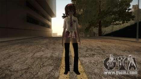 Rasta School Girl for GTA San Andreas second screenshot