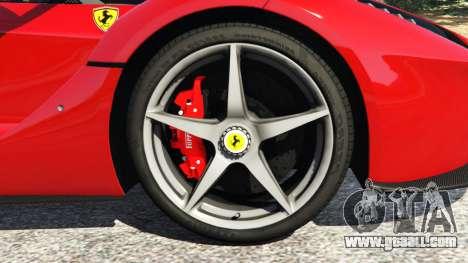 Ferrari LaFerrari 2015 v0.5 for GTA 5