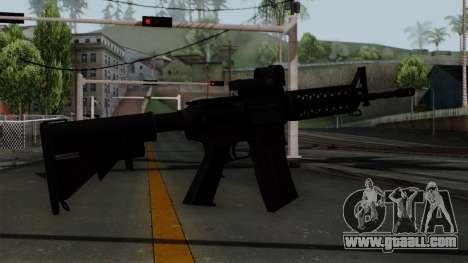 AR-15 Elcan for GTA San Andreas second screenshot