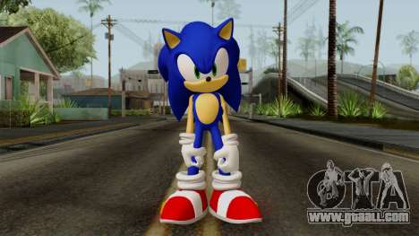 Sonic the Hedgehog HD for GTA San Andreas second screenshot