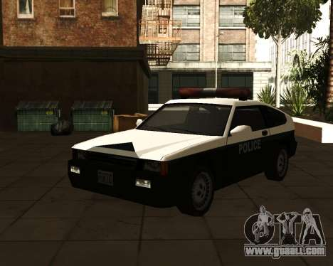 Japanese Police Car Blista for GTA San Andreas