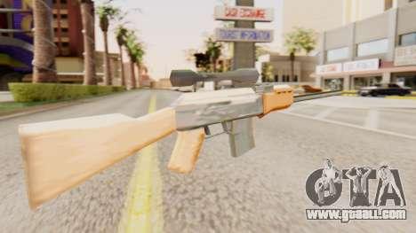 Zastava M76 for GTA San Andreas second screenshot