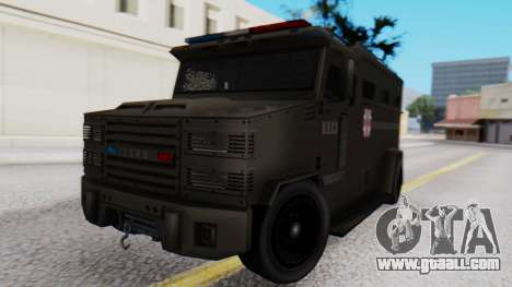 GTA 5 Enforcer Raccoon City Police Type 1 for GTA San Andreas