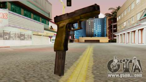 Glock 17 SA Style for GTA San Andreas