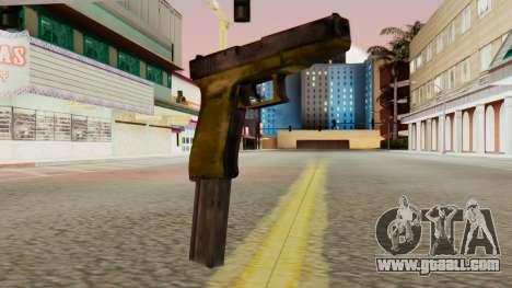 Glock 17 SA Style for GTA San Andreas