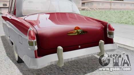 GAZ 21 Volga v2 for GTA San Andreas back view