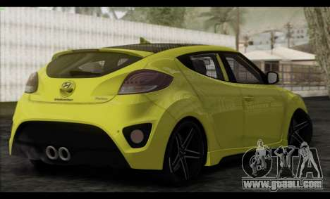 Hyundai Veloster 2012 for GTA San Andreas left view