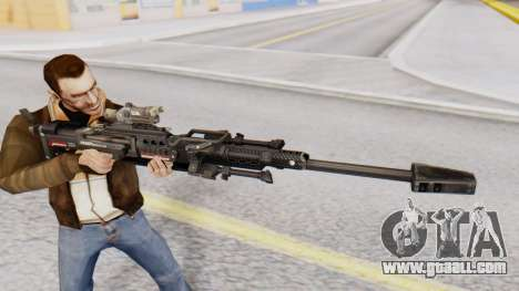 Sniper Rifle 8x Scope for GTA San Andreas third screenshot