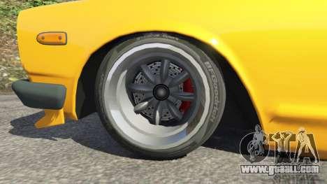 Nissan Skyline 2000 GT-R 1970 v0.3 [Beta] for GTA 5