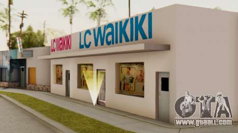 LC Waikiki Shop for GTA San Andreas