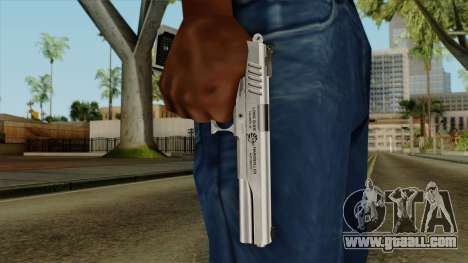 Original HD Colt 45 for GTA San Andreas third screenshot