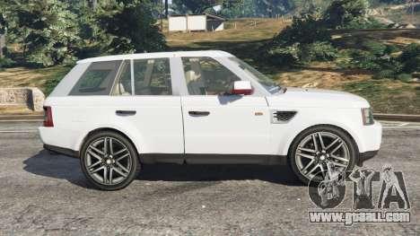GTA 5 Range Rover Sport 2010 v0.7 [Beta] left side view