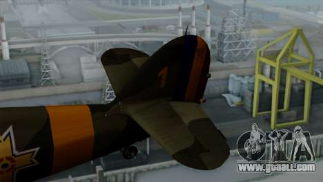 Hawker Hurricane Mk1 - Romania Nr. 1 for GTA San Andreas back left view