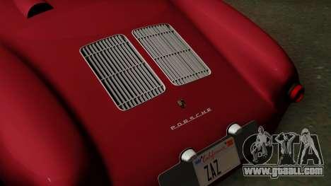 Porsche 550A Spyder 1956 for GTA San Andreas back view