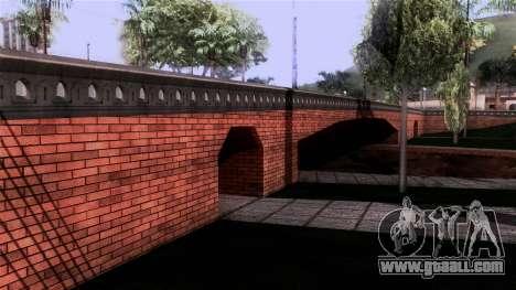 New Glen Park for GTA San Andreas second screenshot