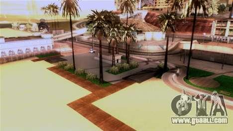 New beach in Los Santos for GTA San Andreas third screenshot